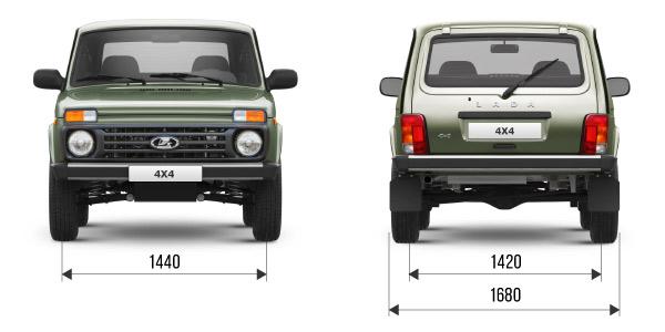 Технические характеристики LADA 4x4 3 дв.